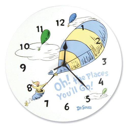 Trend Lab Dr Seuss Clock Places