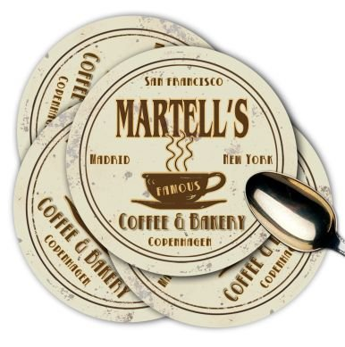 martells-coffee-shop-bakery-coasters-set-of-4