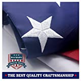VSVO American Flag 4×6 ft with Durable 240D Nylon Outdoor Flags – UV Protected, Embroidered Stars, Sewn Stripes, Brass Grommets Outside US Flags. Review