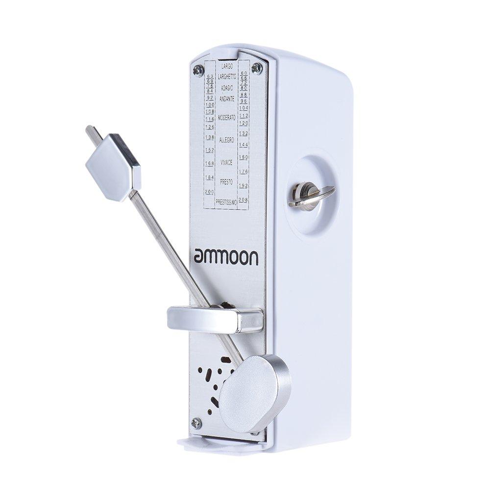 ammoon Mini Mechanical Metronome Universal for Piano Guitar Violin Ukulele Chinese Zither Music Instrument