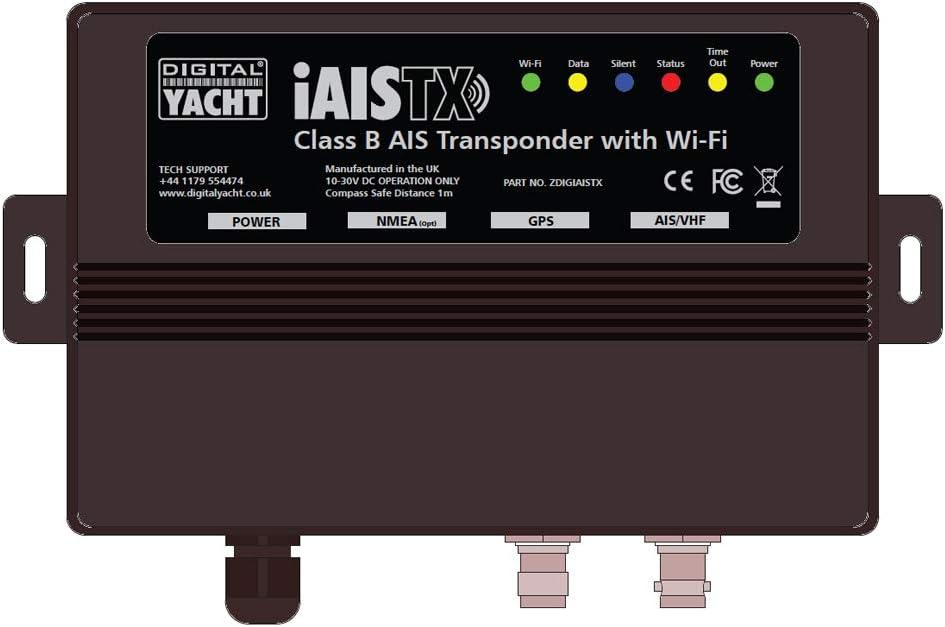 Digital Yacht iAISTX Plus - Transpondedor AIS con Interfaz Wi-Fi y ...