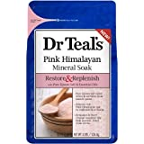 Dr Teal's Restore & Replenish Pink Himalayan Mineral Soak, 3 lbs, 8 Count + Cleaning Cloth
