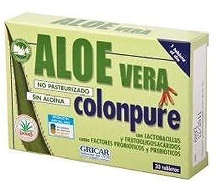 Aloe Vera Colonpure 30 comprimidos de Herbofarm