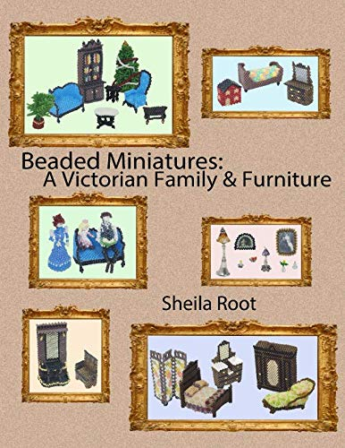 Beaded Miniatures: A Victorian Family & Furniture, used for sale  Delivered anywhere in USA