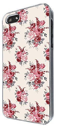 311 - Floral shabby chic Roses Fleurs Design iphone 4 4S Coque Fashion Trend Case Coque Protection Cover plastique et métal