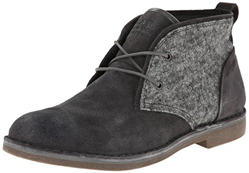 MARC NEW YORK Men's Stanton Chukka Boot,Silverfox/Gum,11 D US