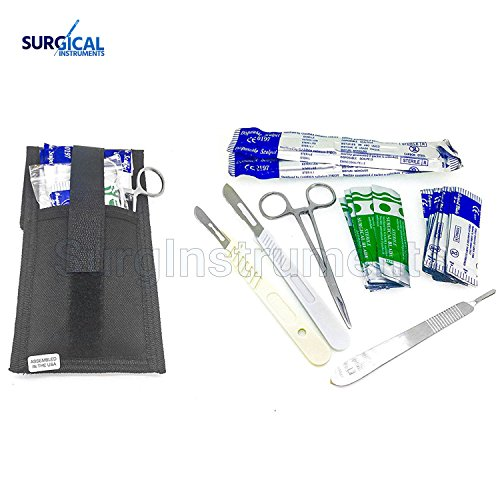 Dermaplaning Cleaning Kit - Disposable Scalpel Blades #22, 10 and 11 with Handle by surgicalonline