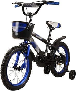 M-YN Bicicleta Niños con Ruedines Los niños niños de la Bici de ...
