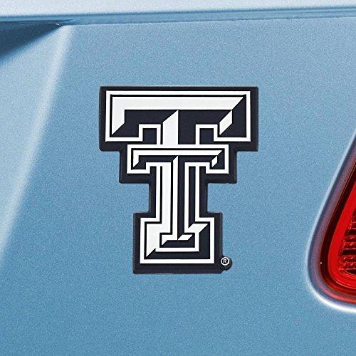 FANMATS  14899  NCAA Texas Tech University Red Raiders Chrome Team Emblem