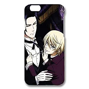 Iphone 6 ( 4.7 Inch ) Case Popular Anime Black Bulter 3D Durable Hard Plastic Phone Case