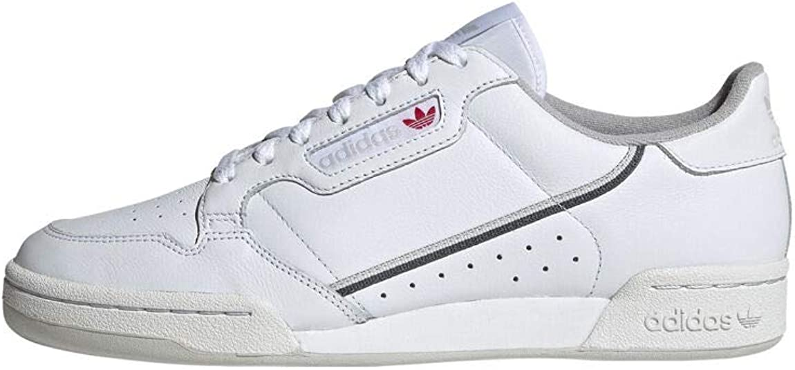 adidas Originals Mens Continental 80 Sneakers Color White