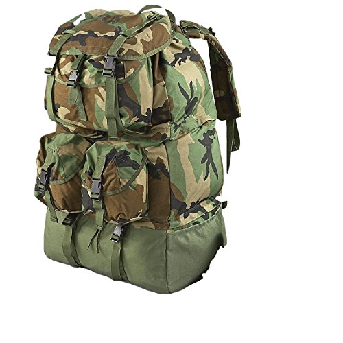 (Military Surplus Army Backpack Mounted Crewman Compartmented Equipment Bag MCCEB)