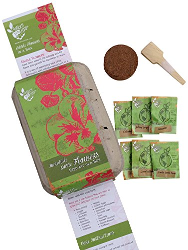 Edible Flowers Heirlooom Seed Kit