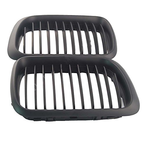 E36 Grill - E36 Front Grille Matte Black Front Kidney Grills for BMW 3 SERIES E36 97-99 Facelift