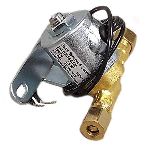Gems Sensors B2015-S135 Humidifier Fill Valve, 120 V, 60 Hz AC, 125 PSI