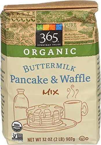 Organic Waffle (365 Everyday Value Organic Buttermilk Pancake & Waffle Mix, 2 Pound)