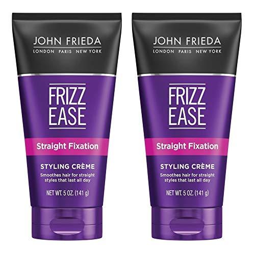 John Frieda Frizz-Ease Straight Fixation Styling Creme - 5 oz - 2 pk