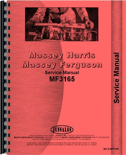 Massey Ferguson 3165 Industrial Tractor Service - Manual Service Olds