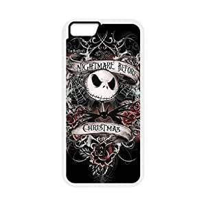 iPhone 6 Plus 5.5 Inch Case White Nightmare Before Christmas Cell Phone Case Cover M2R5WR