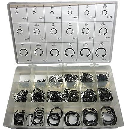 Internal Retaining Ring Kit Carbon Steel Phosphate