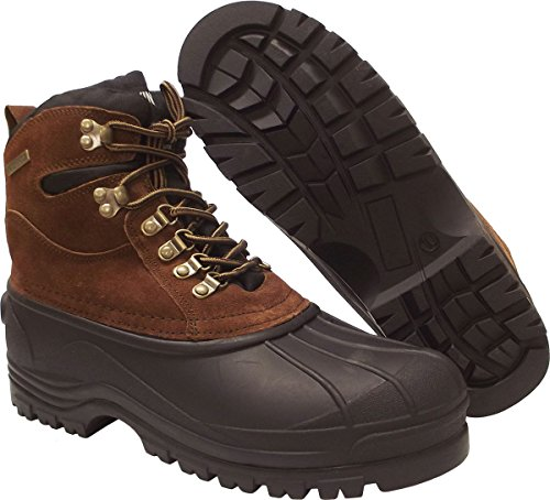 Image of KINGSHOW - Mens M1280 Waterproof Rubber Sole Winter Snow