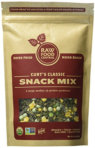 Raw Food Central Curt?s Classic Snack Mix 100% Organic NON GMO Gluten Free Vegan