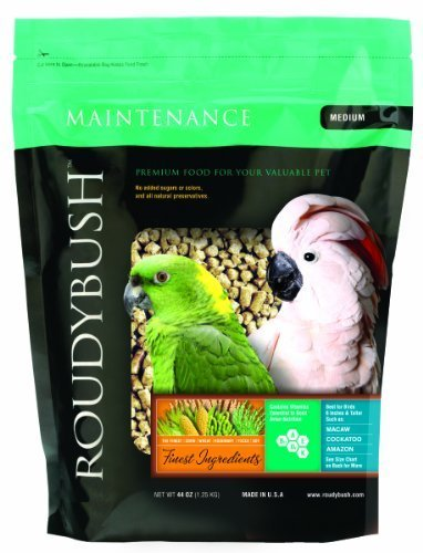 Roudybush Daily manutenzione Bird Food, Medium, 44-ounce by Roudybush, Inc. (English Manual)