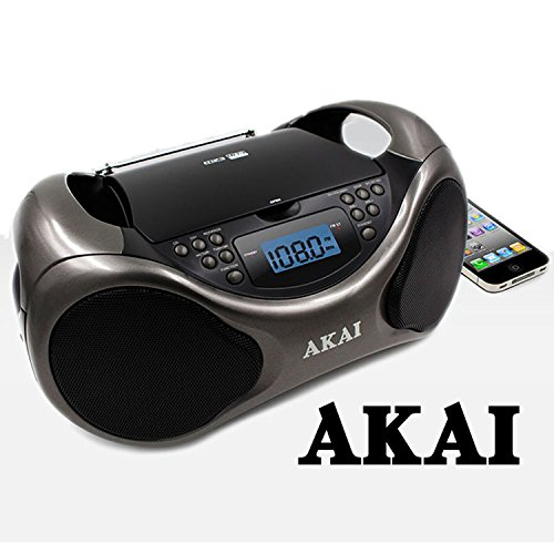 Akai CD/AM/FM Portable Boombox CE2000 with LCD