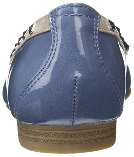 denim Tozzi Mujer Bailarinas Para Marco 22113 853 Comb Azul aYzdwfq