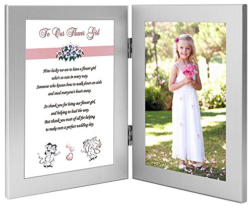 Amazon Com Flower Girl Gift Thank You Wedding Poem From Bride And