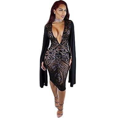 V Neck Club Dresses