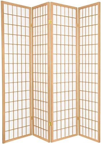 Legacy Decor Shoji - Pantalla separadora para habitación (4 Paneles, Natural): Amazon.es: Juguetes y juegos
