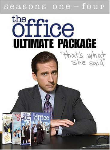 The Office: Complete Seasons 1 - 4 (The Ultimate - Krasinski And John Carell Steve