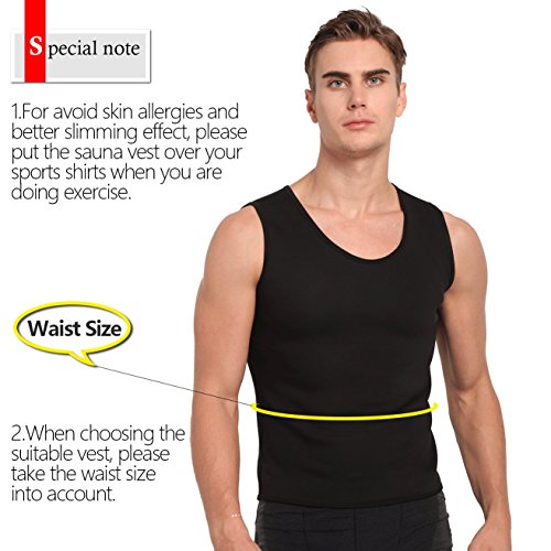 170a6dcbae Hot Sweat Vest Neoprene Sauna Vest For Men Weight Loss Tummy Fat Burner  Slimming Shapewear Hot