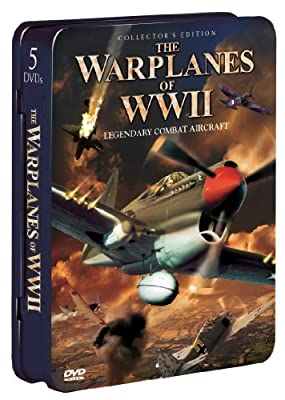 The Warplanes of WWII: Legendary Combat Aircraft (5-pk)(Tin) by None
