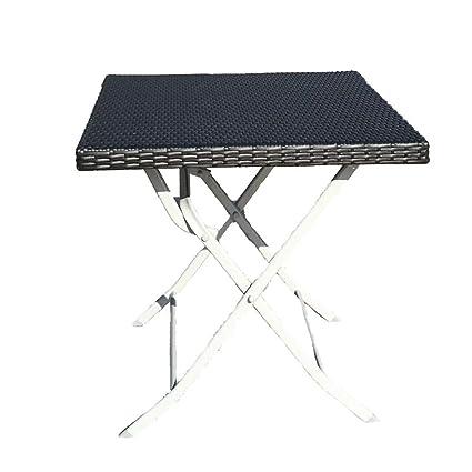 en à de de Manger Pliante Table métal Salle Table métal en WDYe2EIH9