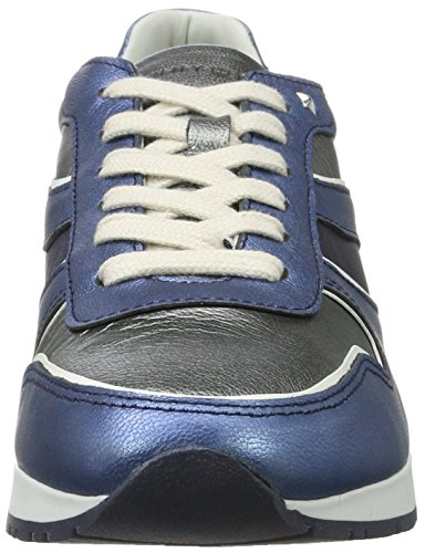 Sneakers Silver Bleu Dark Basses Midnight I1285zzy Femme 1c2 Jeans Tommy Hilfiger wt74x