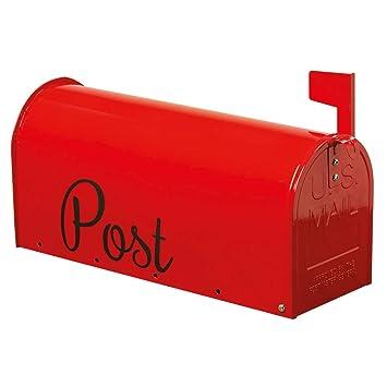 Boite Aux Lettres Rouge L48 Cm Amazon Fr Bricolage