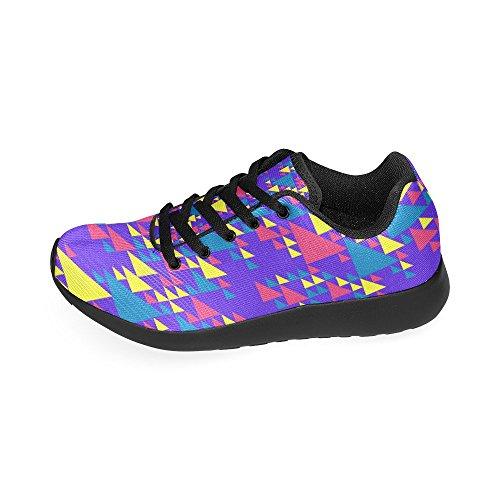 Zenzzle Running de Zapatillas de Lona Negro Mujer Para Negro aqazrO