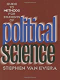 Book cover from Guide to Methods for Students of Political Science by Stephen Van Evera