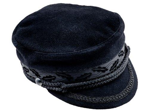 - Sterkowski Mariner Style Breton Fiddler Cap US 7 1/8 Black