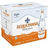 ACQUA PANNA Natural Spring Water, 33.8-ounce plastic bottles (Pack of 24) VBNN