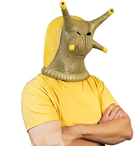Banana Slug Adult Costume Mask