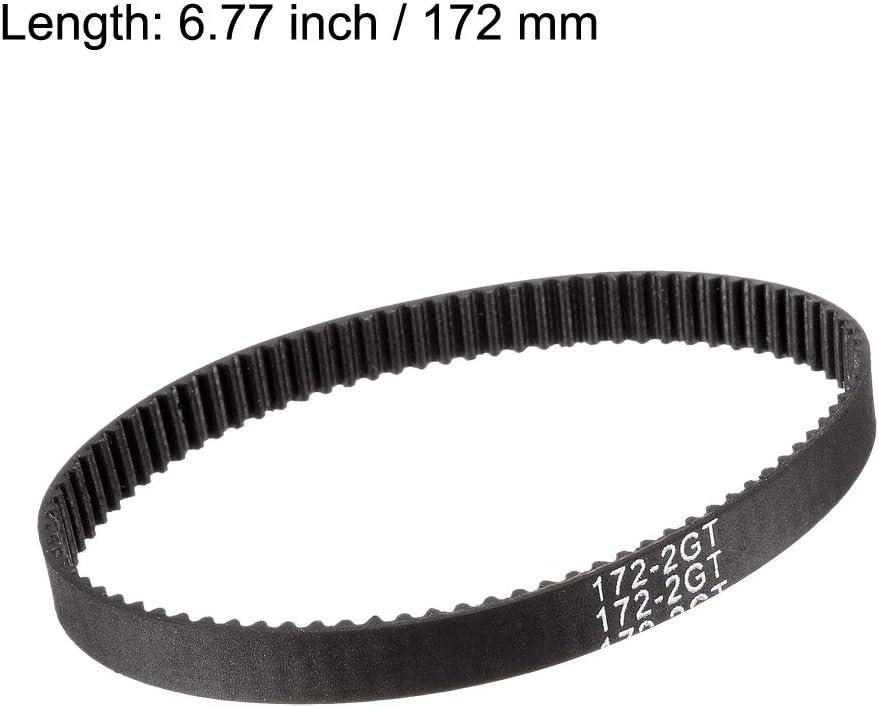102 mm - 550 mm Sourcingmap GT2 Correa de distribuci/ón para Impresora 3D