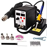 GHP 700W 2in1 LED Digital Display Hot Air Gun / Soldering Iron