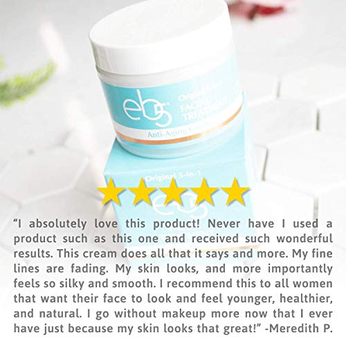 eb5 Intense Moisture Anti-Aging Facial Cream | Hypoallergenic Wrinkle Protection, 4 Ounces by eb5 (Image #5)