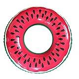 Gymforward Children Kids Watermelon Swim Ring Inflatable Pool Loungers Float Toys 20inch