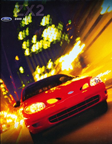 Escort Zx2 (2000 Ford ZX2 Original Car Sales Brochure Catalog - Escort)