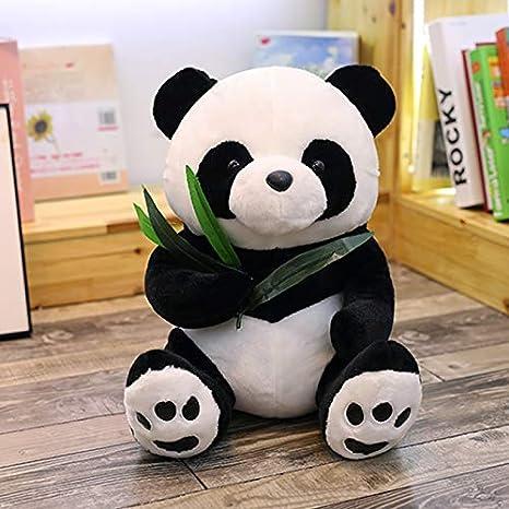 AYQX Panda Doll Plush Toy Blanco y Negro marioneta Almohada ...