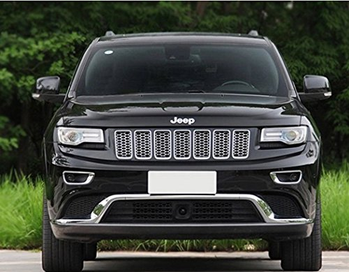 Sunluway® 2015 Latest Chrome Front Grill Mesh Grille Insert For 2014-2015 Jeep Grand Cherokee 7PC